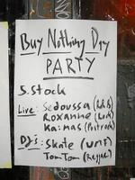 29.11.2003 Tacheles - Buy Nothing Dry Party